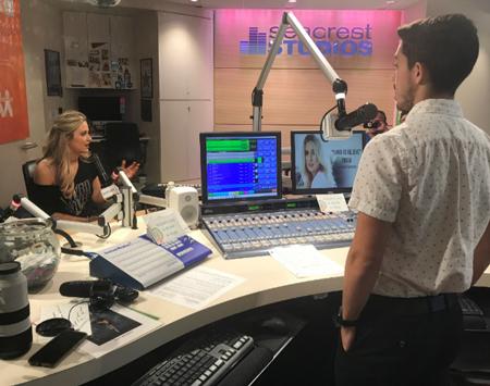 Rachel Visits Seacrest Studios at Monroe Carell Jr. Children's Hospital at Vanderbilt