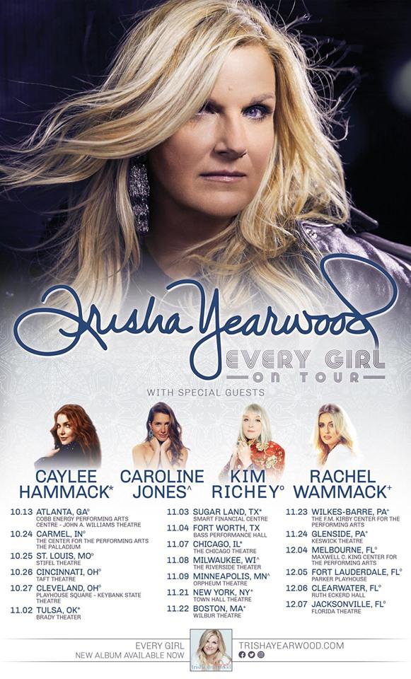 Rachel Joins Trisha Yearwood on Tour