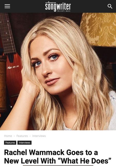 Rachel in American Songwriter!