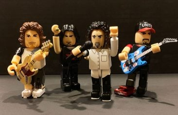 Rage Against The Machine collectible figures by Japanese toy icons Brokker