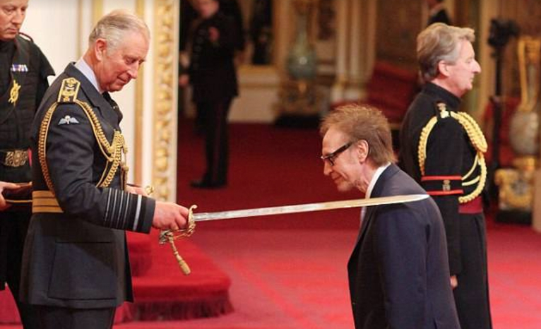 Ray Davies knighted by Prince Charles