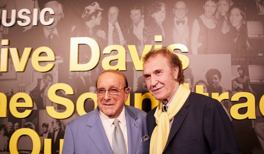 Ray Davis with Clive Davis