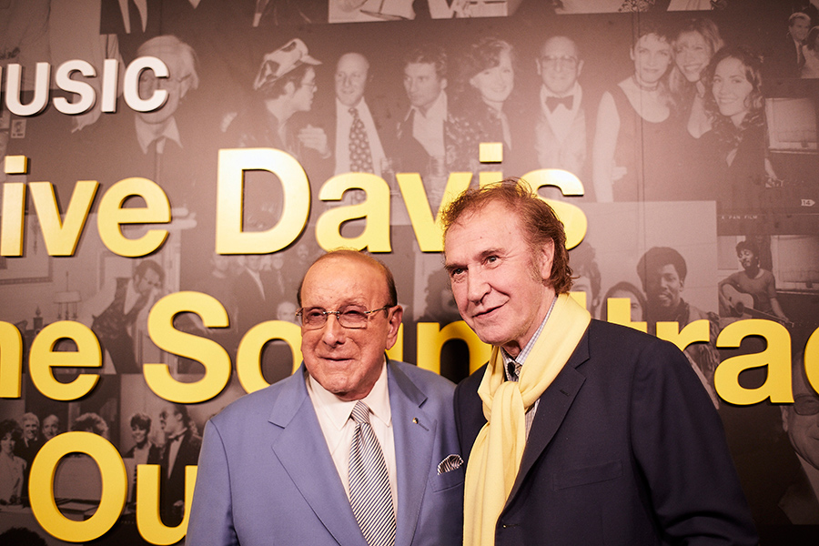 Ray Davis with Clive Davis