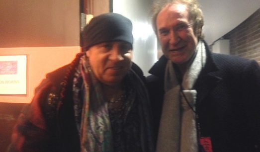 Ray Davies and Stevie Van Zandt
