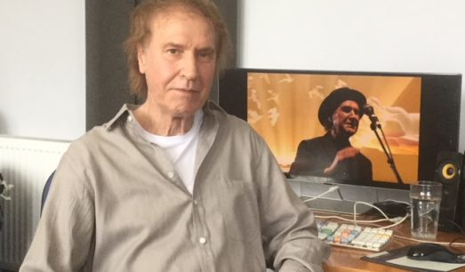 Ray Davies working on 'BBC Proms In The Park'
