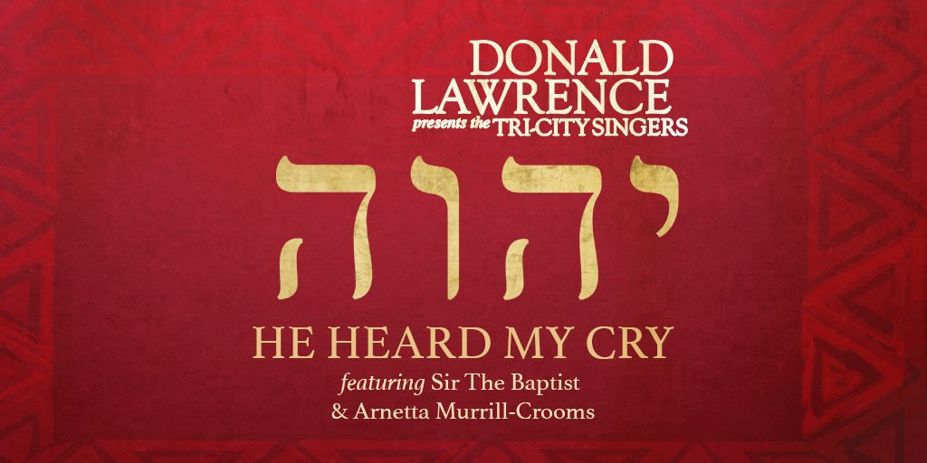 Music icon Donald Lawrence releases new song with the Tri