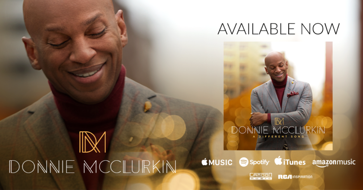 Gospel Legend Donnie McClurkin releases new album, A Different Song