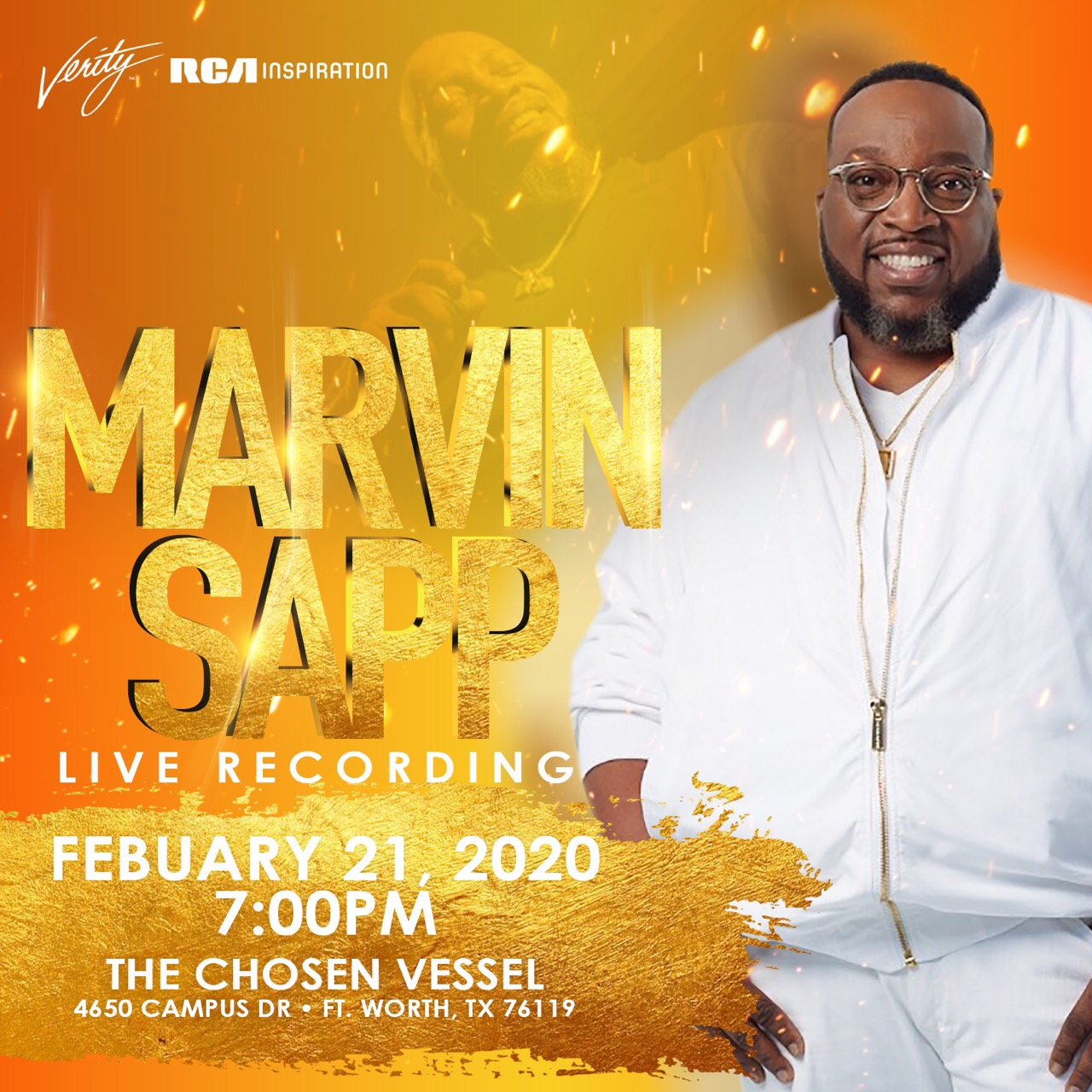 Marvin Sapp Live Recording