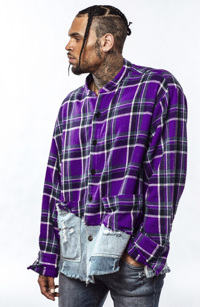 Chris Brown Press Photo