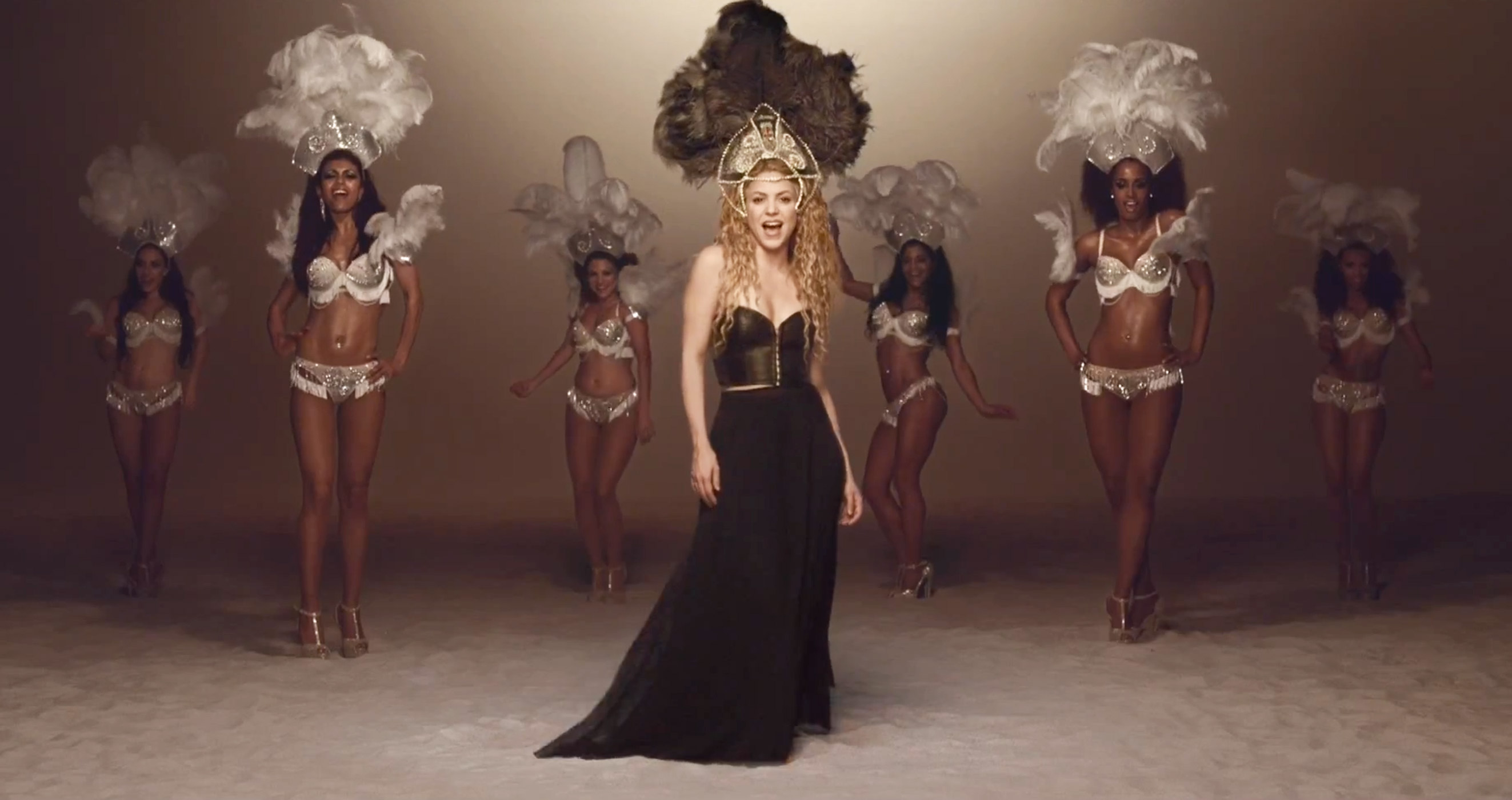 Shakira Launches New Celebratory Music Video For La La La Brazil 2014 Feat Carlinhos Brown Rca Records