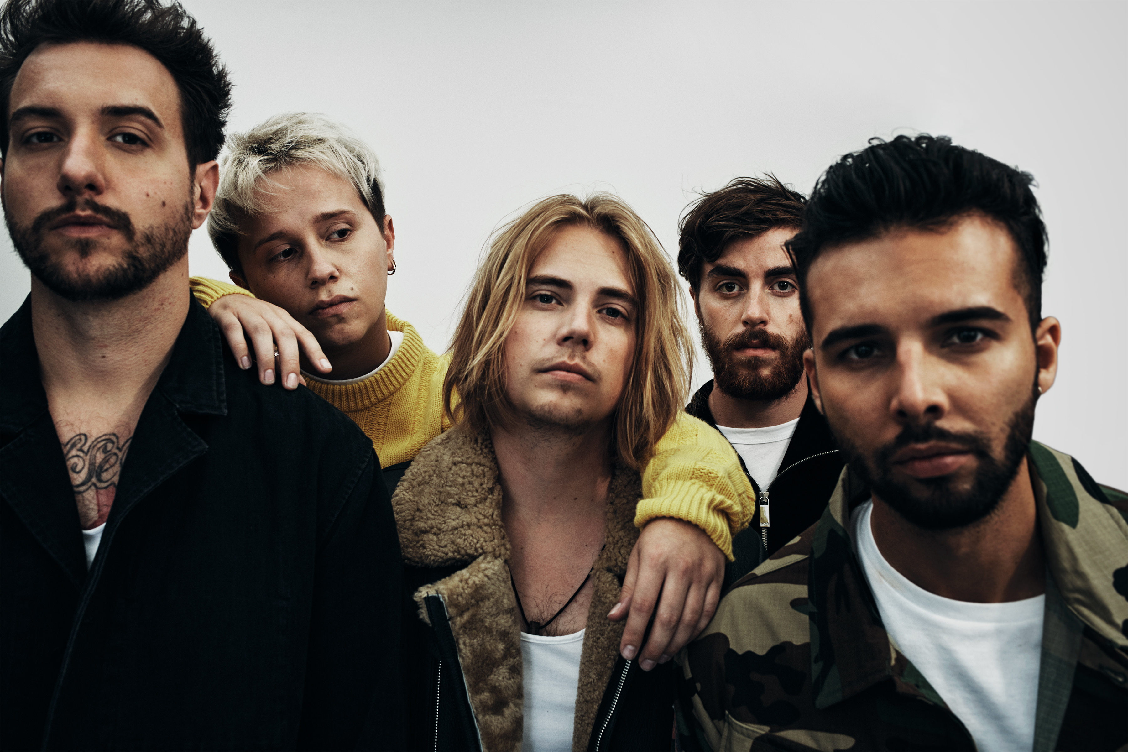 Image result for nothing but thieves gods