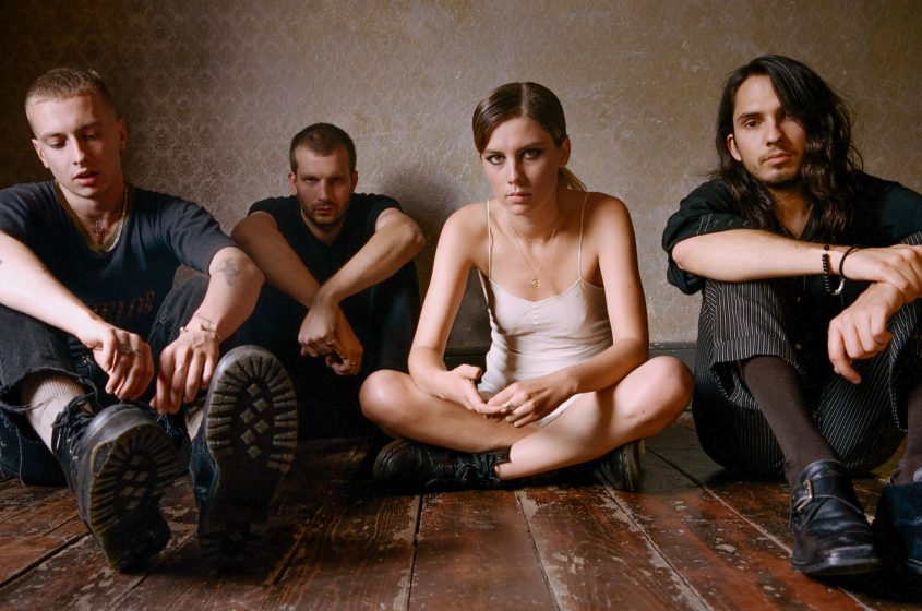 Foto Wolf Alice k albu Visions of Life
