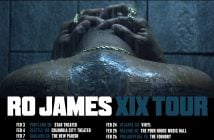 "Ro James To Embark On Headlining ""XIX"" Tour In 2017 - Nominated For A GRAMMY For Best R&B Performance For ""Permission"" From Debut Album ""ELDORADO"""