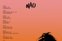 "Nao To Release ""For All We Know Remix EP"" On February 10 -- Announces 2017 North America Tour And Festival Dates"