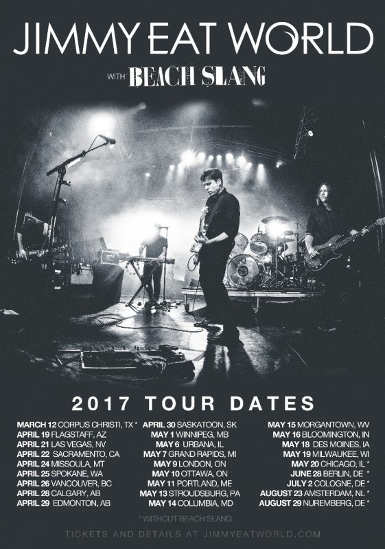 jimmy eat world announces additional north american tour dates rca records. Black Bedroom Furniture Sets. Home Design Ideas
