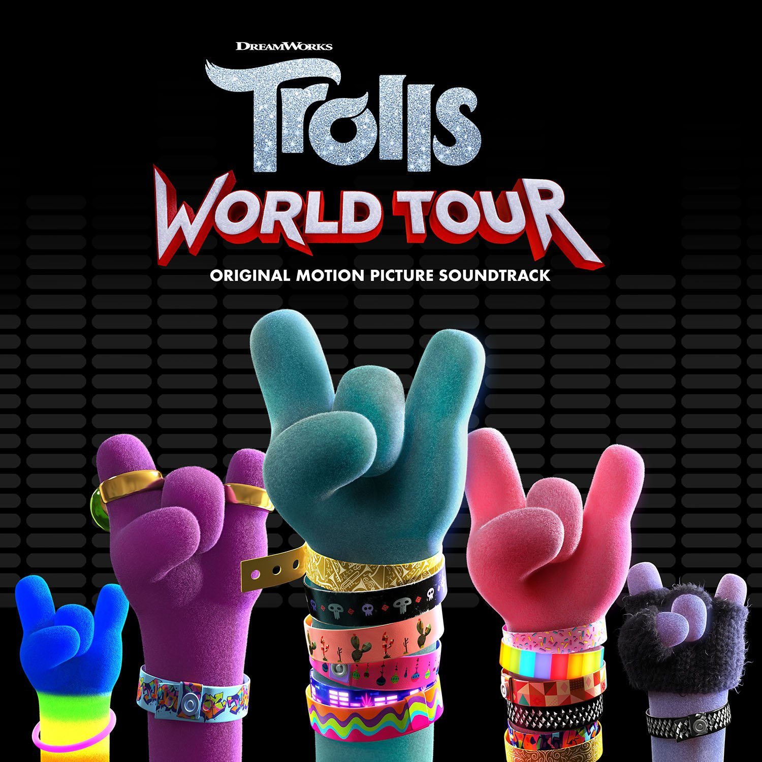 Trolls World Tour Soundtrack Art