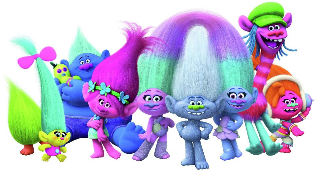 Trolls Press Photo