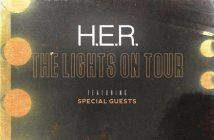 "H.E.R. Announces Headlining North American ""The Lights On Tour"" Kicking Off Nov. 5 in Washington, DC"