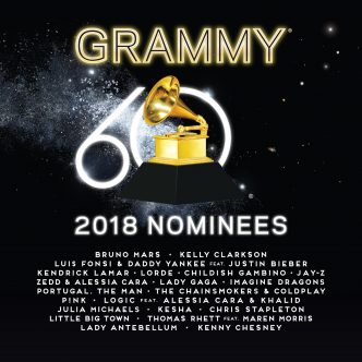 Grammy Compilation Album 2018 Cover Photo