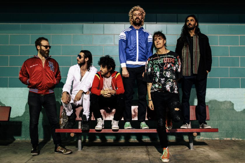 Foto The Voidz k recenzi alba Virtue.