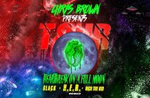 "Chris Brown Announces ""Heartbreak On A Full Moon Tour"" With 6lack, H.E.R. And Rich The Kid"