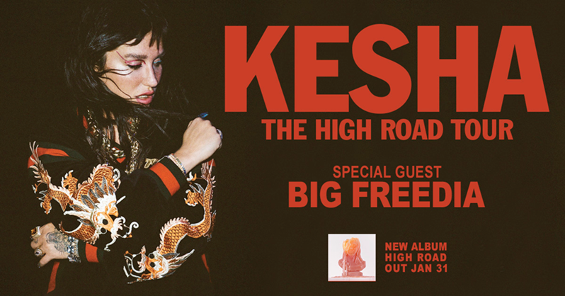 Kesha Takes the 'High Road' This Spring