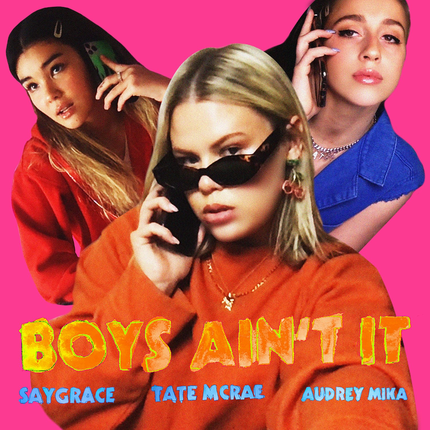 "Tate McRae & Audrey Mika Join SAYGRACE On A Brand New Version + Video of Chart-Topping Single ""Boys Ain't Shit"" Out Today"