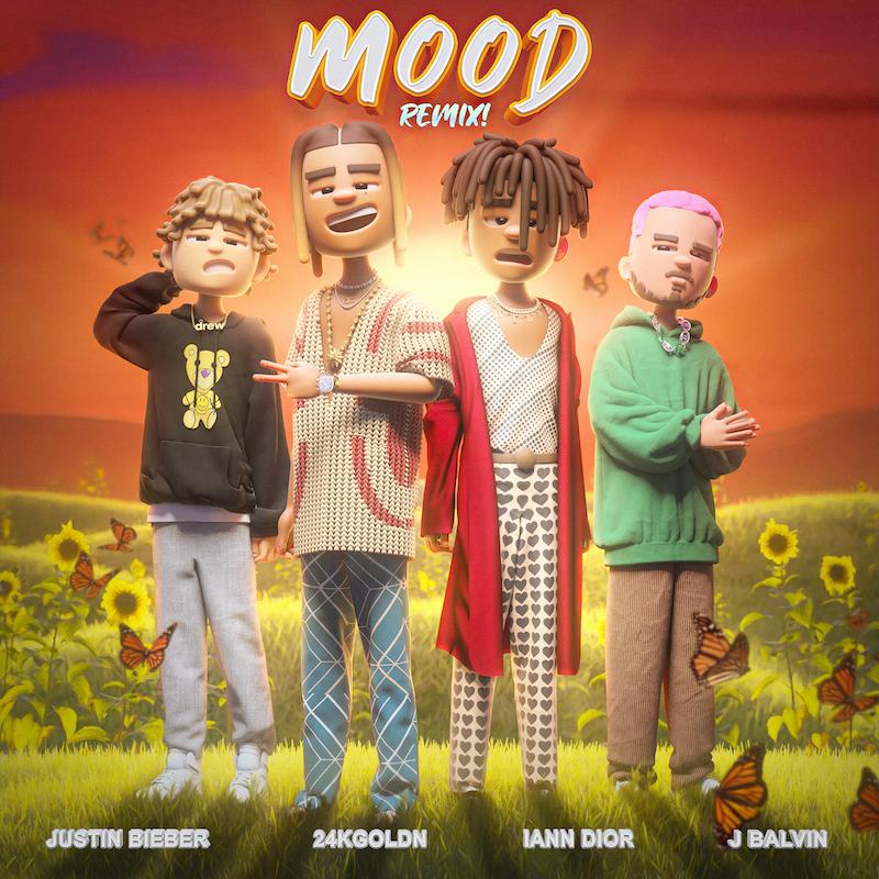 NEW – Mood (Remix) Album Artwork