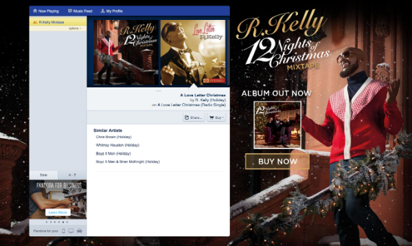 12 Nights Of Christmas Mixtape Now On Pandora