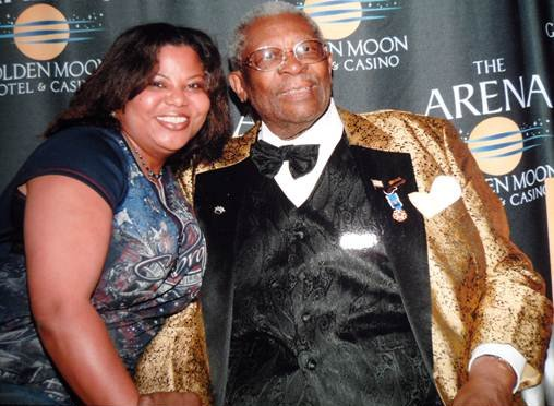 Tanya Scott and B.B. King