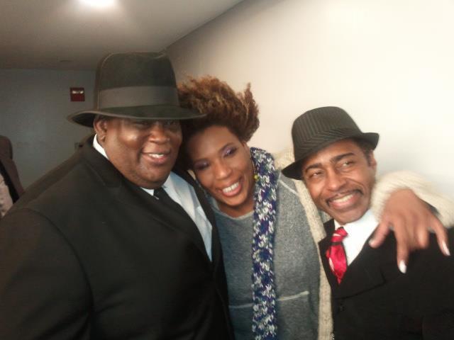 Steven Johnson, Macy Gray and Vasti Jackson