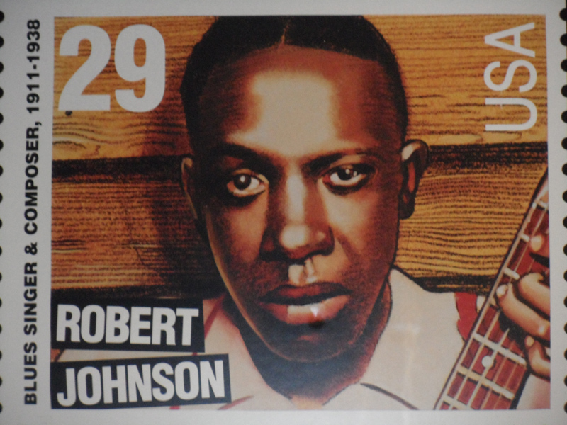 Robert Johnson U.S. postage stamp