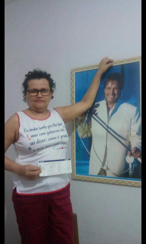 Maria de Lourdes de Souza Santos – Eu vivo Roberto Carlos - Eu vivo Roberto Carlos