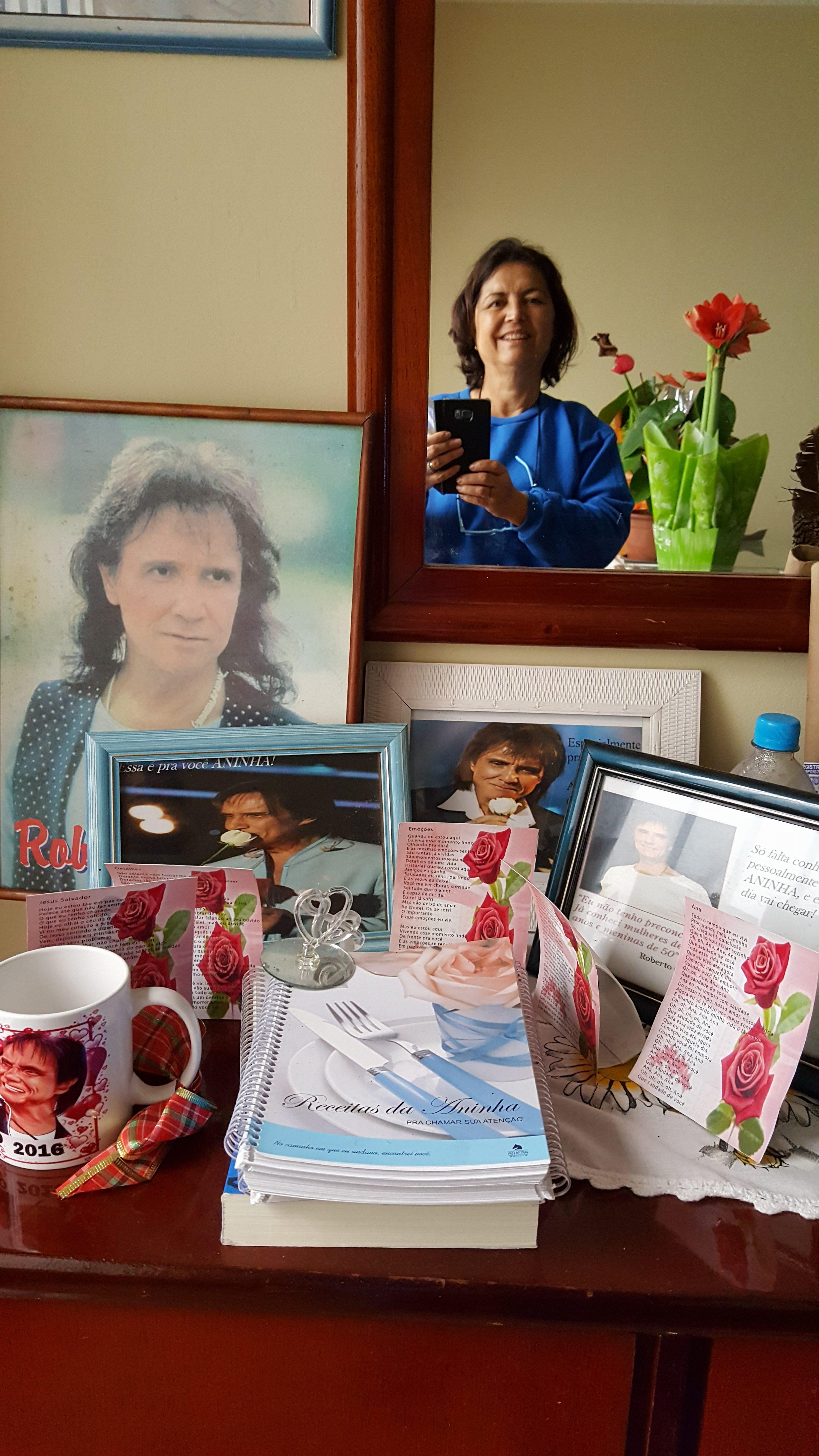 Ana Maria da Silva - Sou Aninha do Roberto Carlos em mogi das cruzes