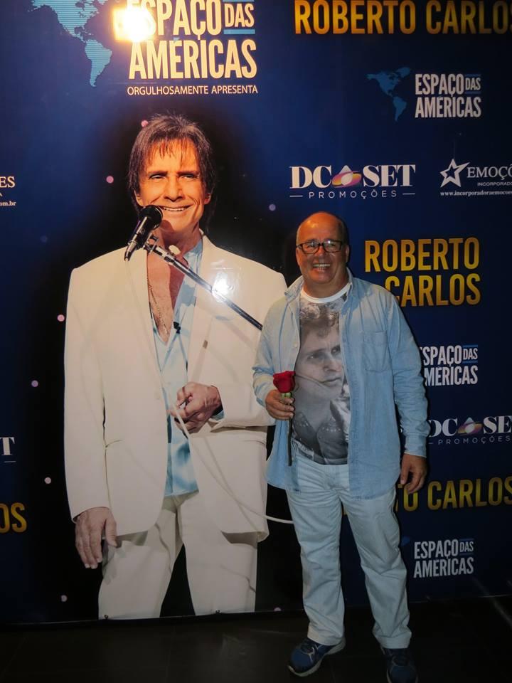 Sérgio Luiz de Sá Barreto – Show do Roberto, no Espaço das Américas dia 15/07/2016 - Show do Roberto, no Espaço das Américas dia 15/07/2016
