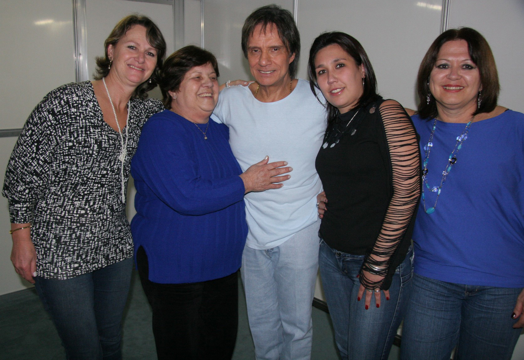 Beth, Leda, Roberto, Kelly e Clarice
