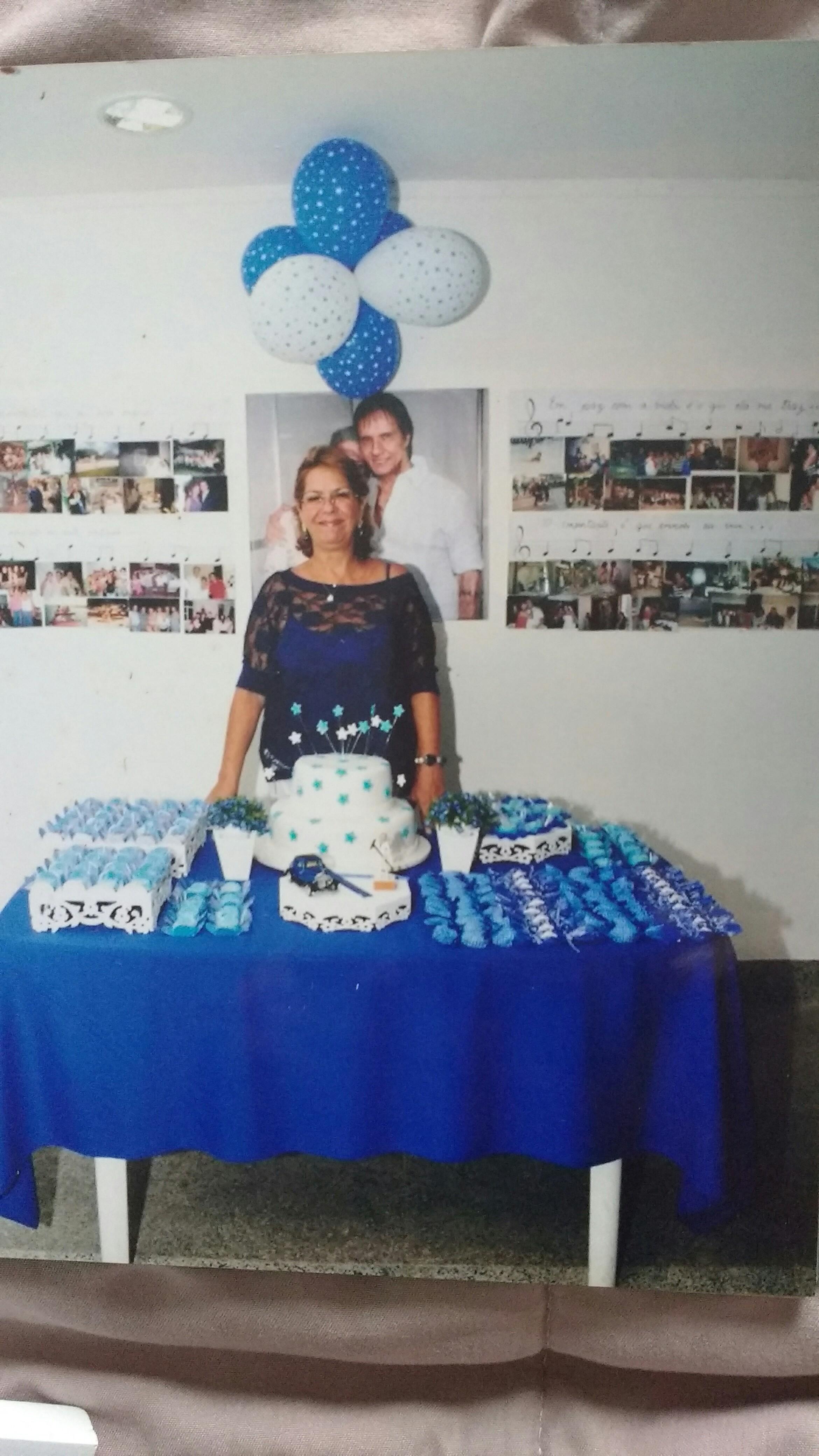Maria José de Almeida Souza – Minha festa de 60 anos tema Roberto Carlos. - Minha festa de 60 anos tema Roberto Carlos.