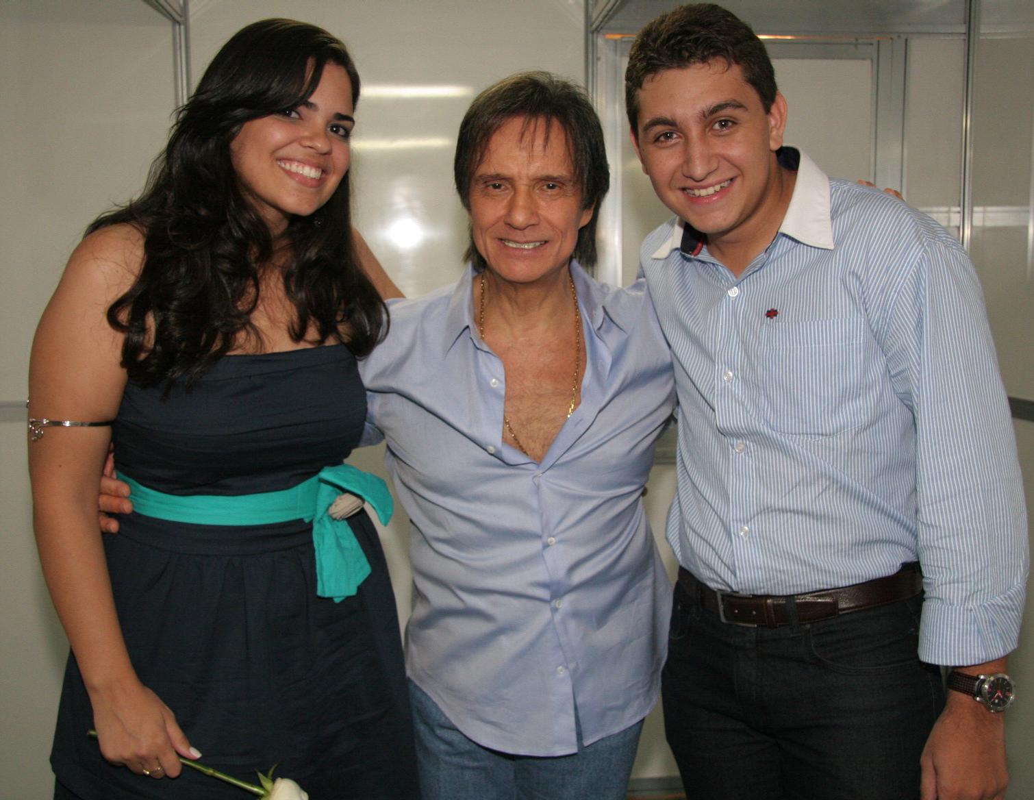 Luthiene Moura e Felipe Moura