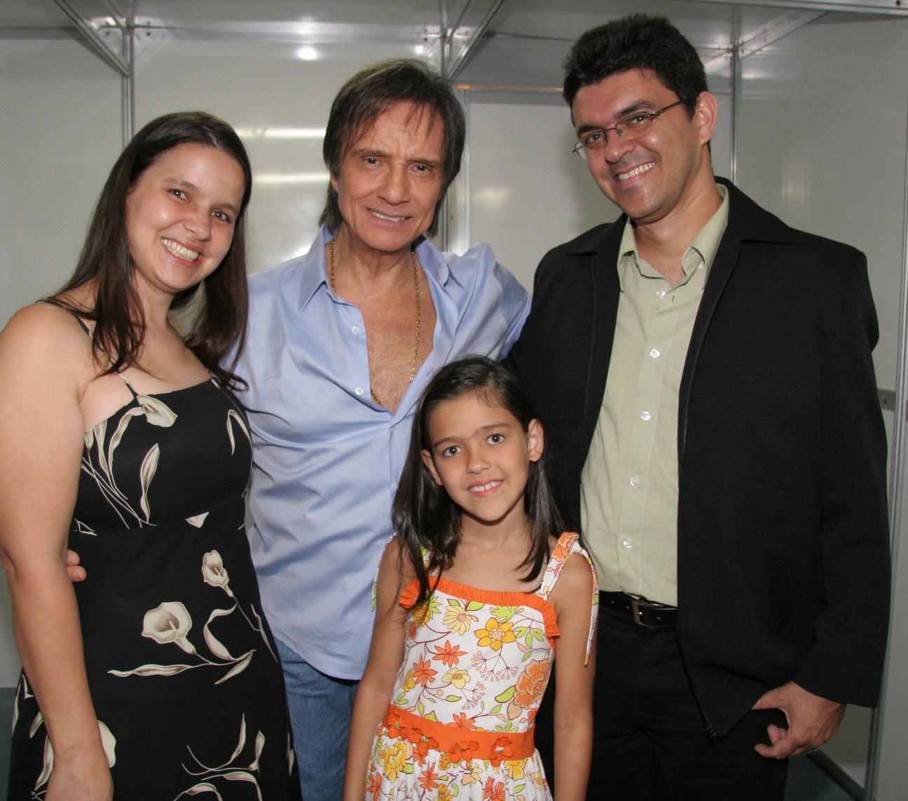 Maria, Lucilene, Daniele, Maria e Julio Jose