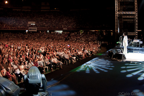 Roberto Carlos em Belo Horizonte 24/09/2011  Foto por Caio Girardi