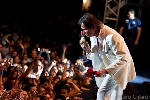 Roberto Carlos em Brasilia 01/10/2011  Foto por Caio Girardi
