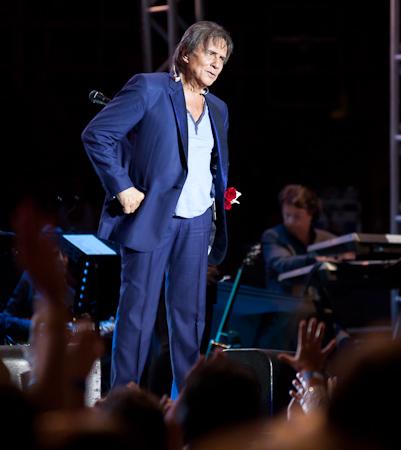Roberto Carlos em Franca 22/11/2013
