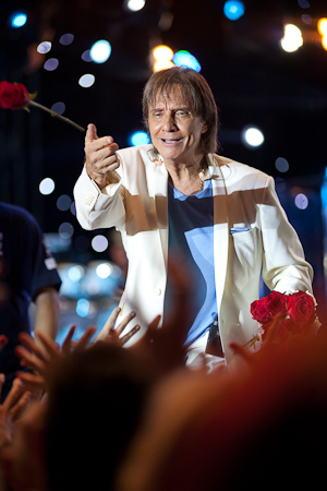 Roberto Carlos em Joinville 03/04/2013