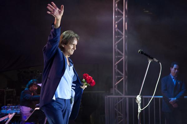 Roberto Carlos no Rio de Janeiro 16/8/2013
