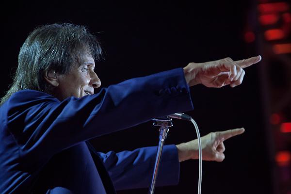 Roberto Carlos no Rio de Janeiro 17/8/2013