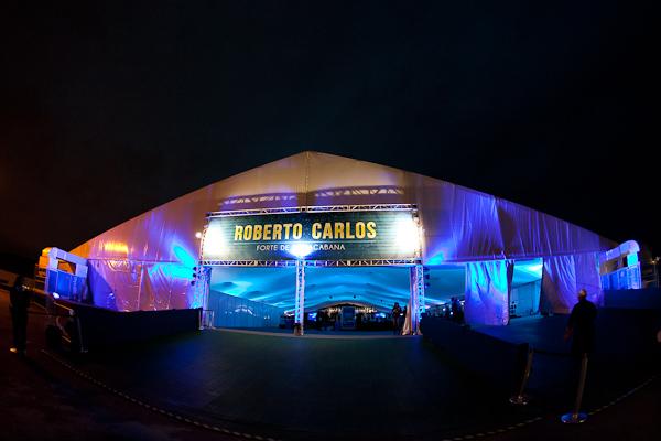 Roberto Carlos no Rio de Janeiro 11/8/2013