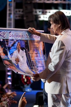 Roberto Carlos no Rio de Janeiro 14/12/2012