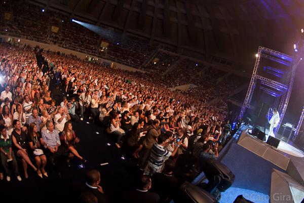 Roberto Carlos no Rio de Janeiro 19/04/2012