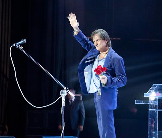 Roberto Carlos em São Paulo 12/5/2013