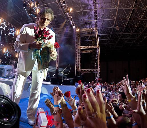 Roberto Carlos em Santos 20/12/2014